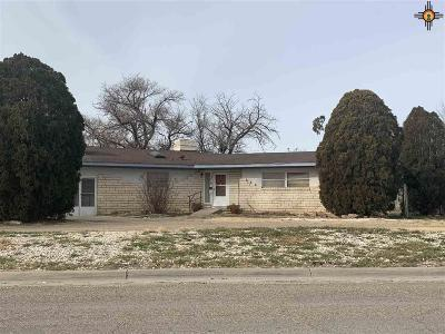 Portales NM Single Family Home Under Contract-Don't Show: $70,000