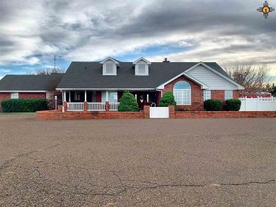 Portales Single Family Home For Sale: 41725 Us Highway 70