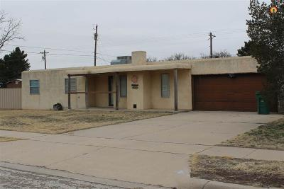 Lovington Single Family Home Under Contract-Don't Show: 607 N Sixteenth Street