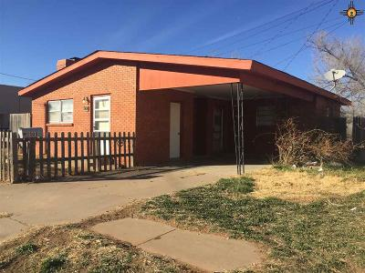 Clovis NM Single Family Home For Sale: $40,000