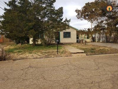 Clovis NM Single Family Home For Sale: $55,900