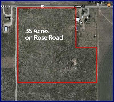 Hobbs Residential Lots & Land For Sale: Rose Road