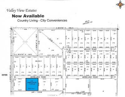 Roosevelt County Residential Lots & Land For Sale: 1789 Moreland Rd