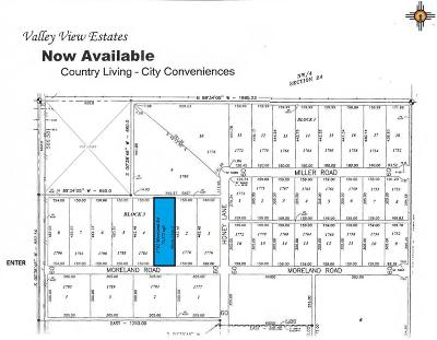 Roosevelt County Residential Lots & Land For Sale: 1782 Moreland Rd