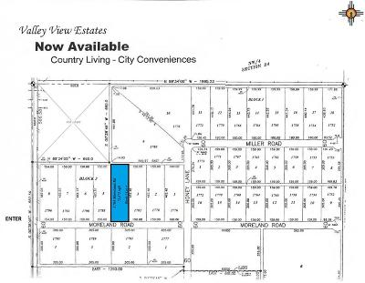 Roosevelt County Residential Lots & Land For Sale: 1784 Moreland Rd