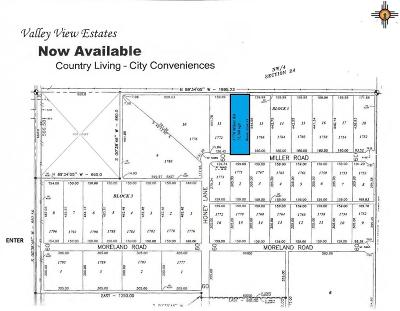 Roosevelt County Residential Lots & Land For Sale: 1770 Miller Rd