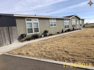 Hobbs NM Manufactured Home Under Contract-Don't Show: $114,900
