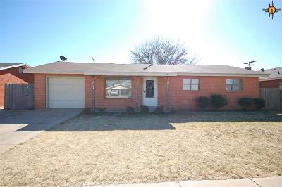 Clovis NM Single Family Home For Sale: $108,000