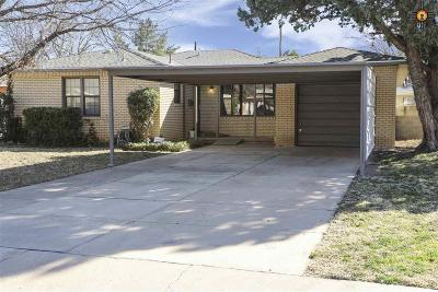 Hobbs Single Family Home Under Contract-Don't Show: 409 E Mesa Drive