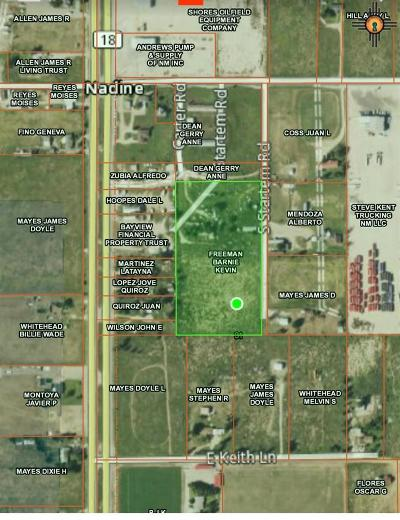 Hobbs Residential Lots & Land For Sale: 8.39acs Startem Rd