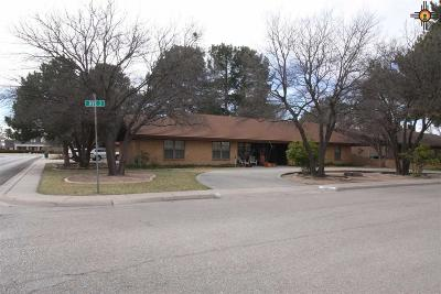 Lovington Single Family Home Under Contract-Don't Show: 1101 W Ave. J