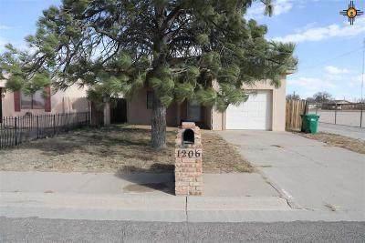 Hobbs Single Family Home Under Contract-Don't Show: 1206 N Tasker