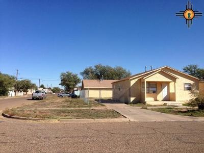 Clovis NM Single Family Home For Sale: $69,500
