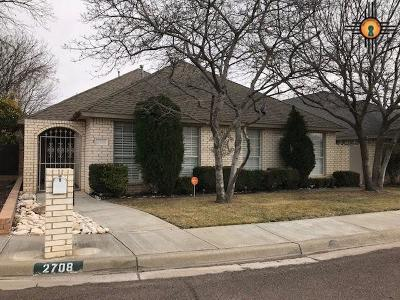Hobbs Single Family Home For Sale: 2708 N Gold Ct.