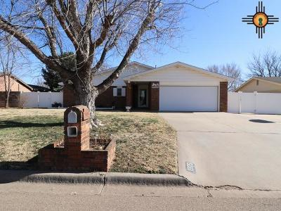 Clovis NM Single Family Home For Sale: $186,000