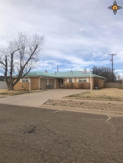 Clovis NM Single Family Home For Sale: $139,900