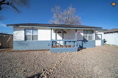 Clovis NM Single Family Home For Sale: $89,500