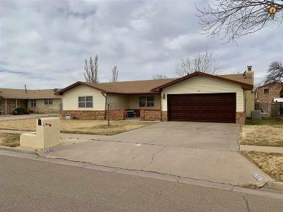 Clovis NM Single Family Home For Sale: $174,500