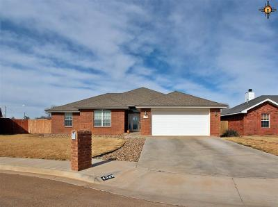 Clovis NM Single Family Home For Sale: $233,500