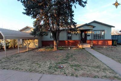 Clovis NM Single Family Home For Sale: $109,000