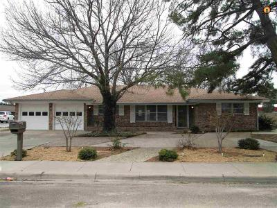 Hobbs Single Family Home Under Contract-Don't Show: 223 W Gold Ave.