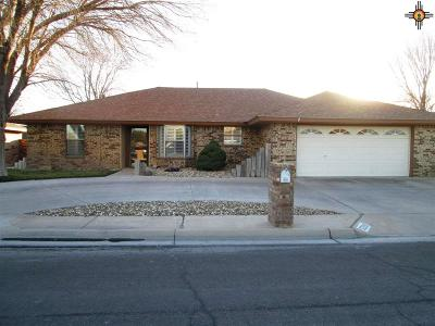 Hobbs Single Family Home Under Contract-Don't Show: 3209 N Cibola Ave