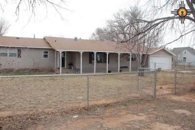 Portales NM Single Family Home For Sale: $92,000