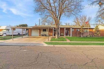 Hobbs Single Family Home Under Contract-Don't Show: 1802 E Rose Ln