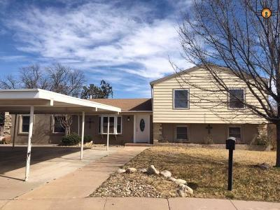 Hobbs Single Family Home For Sale: 1624 N Bucknell Ct.