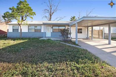 Hobbs Single Family Home Under Contract-Don't Show: 1315 E Highland
