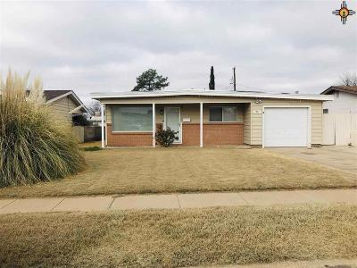 Hobbs Single Family Home Under Contract-Don't Show: 1901 N Steven