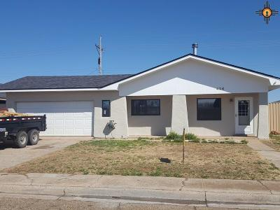 Clovis Single Family Home Under Contract-Don't Show: 424 W Tierra Blanca