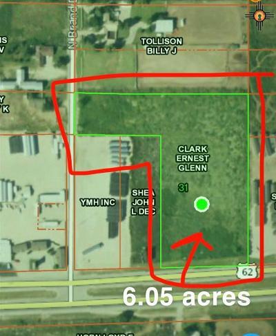 Hobbs Residential Lots & Land For Sale: Highway 62/180(Seminole)