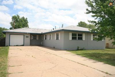 Clovis NM Single Family Home For Sale: $114,900
