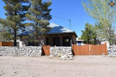 Sierra County Single Family Home For Sale: 537 Rosa