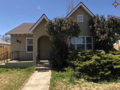Curry County Single Family Home For Sale: 1112 Sheldon St.