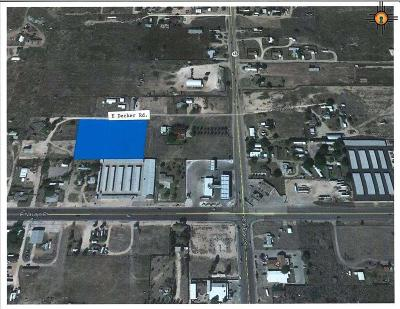 Hobbs Residential Lots & Land For Sale: Off Decker & Dal Paso