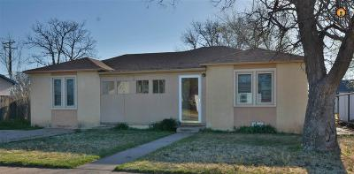Portales Single Family Home For Sale: 105 S Houston