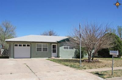Curry County Single Family Home Under Contract-Don't Show: 1309 Pecos