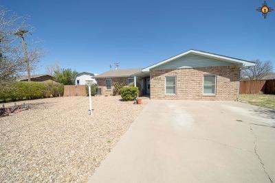 Portales Single Family Home For Sale: 2113 E 3rd Street