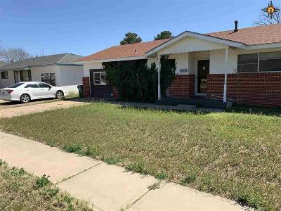 Lovington Single Family Home Under Contract-Don't Show: 1105 W Avenue M