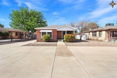 Hobbs Single Family Home Under Contract-Don't Show: 628 E Yucca
