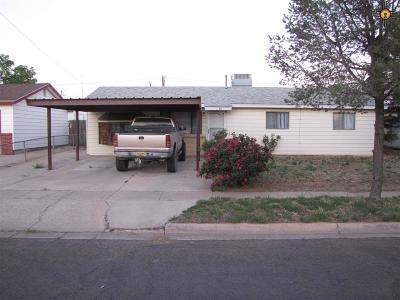 Hobbs NM Single Family Home For Sale: $126,600