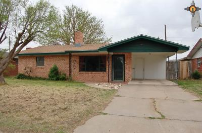 Portales Single Family Home For Sale: 245 Floyd Golden Circle