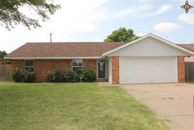 Single Family Home For Sale: 3008 Cheyenne