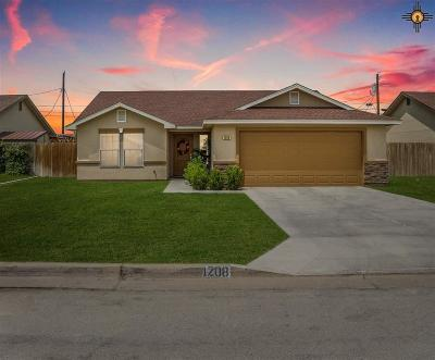 Lovington Single Family Home Under Contract-Don't Show: 1208 Carter Ave.