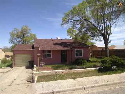 Gallup Single Family Home For Sale: 511 Sunset