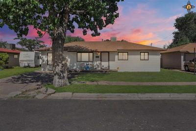 Hobbs NM Single Family Home Under Contract-Don't Show: $125,000