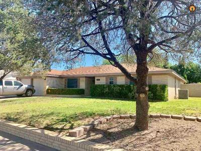 Hobbs NM Single Family Home Under Contract-Don't Show: $269,000