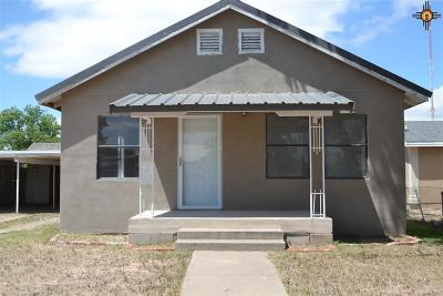 Hobbs NM Single Family Home For Sale: $98,000